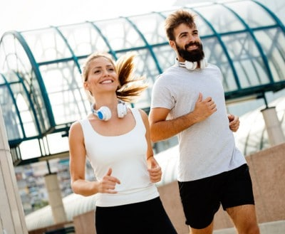 With an active lifestyle these runners need CEREC dental crowns which gives them the freedom of same day dental restorations