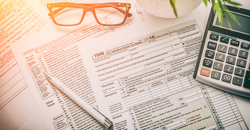 tax return forms, make sure you know what you can deduct for your dental care